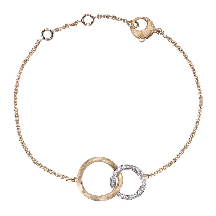 Marco Bicego Jaipur 14 point diamond link bracelet - Product number 1142852