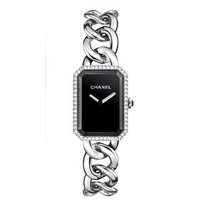 Chanel Premiere Black Dial Bracelet Watch with Diamond Dial - Product number 1151878