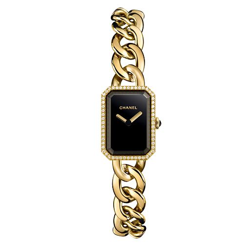 Chanel Premiere 18k Yellow Gold Bracelet Watch Diamond Set - Product number 1151886