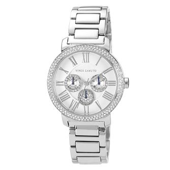 Vince Camuto Ladies' Crystal Stainless Steel Bracelet Watch - Product number 1152777
