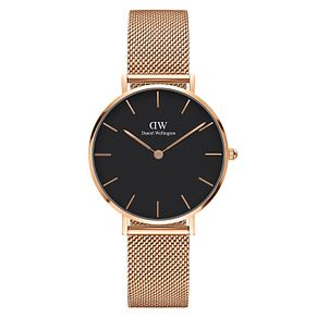 Daniel Wellington Classic Petite Melrose Black Dial Watch - Product number 1176307