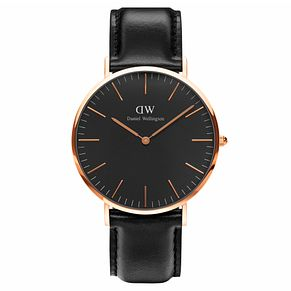 Daniel Wellington Classic Sheffield Black Dial Watch - Product number 1177249