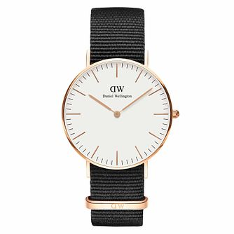 Daniel Wellington Men's Classic Cornwall White Dial Watch - Product number 1181629