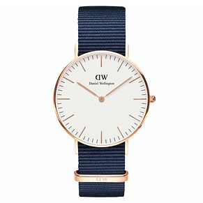 Daniel Wellington Men's Classic Bayswater White Dial Watch - Product number 1181661