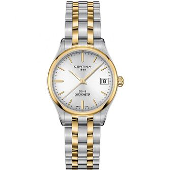 Certina Ladies' Two-Tone Stainless Steel Bracelet Watch - Product number 1182196