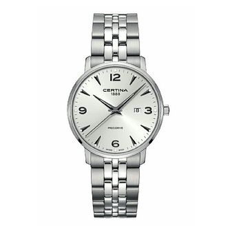 Certina Caimano Men's Stainless Steel Bracelet Watch - Product number 1182277