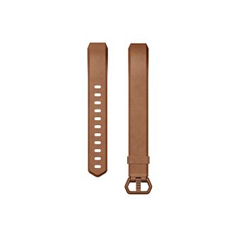 Fitbit Alta HR Accessory Band Leather Brown Large - Product number 1184067