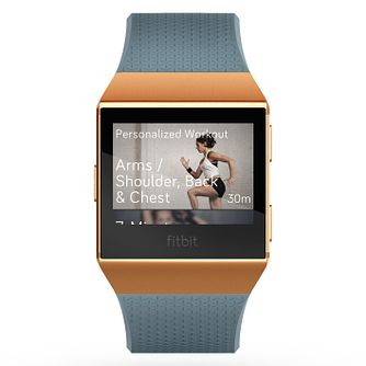 Fitbit Ionic Blue/Orange Smart Watch - Product number 1185241