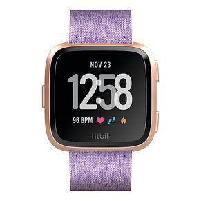 Fitbit Versa Special Edition Lavender/Rose Gold Smart Watch - Product number 1185500