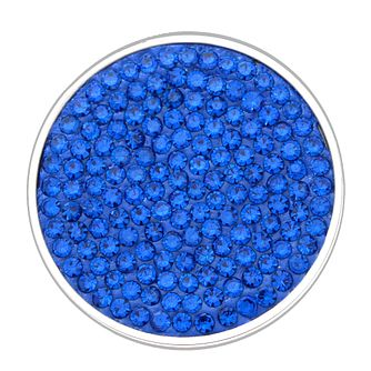 Lucet Mundi blue crystal coin - small - Product number 1225723