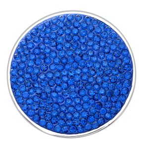 Lucet Mundi blue crystal coin - large - Product number 1225839