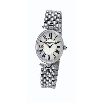 Frederique Constant ladies' diamond oval bracelet watch - Product number 1230042