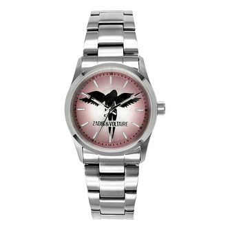 Zadig & Voltaire Ladies' Pink Angel Steel Bracelet Watch - Product number 1232029