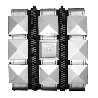Karl Lagerfeld Zip ladies' steel silver strap watch - Product number 1232738