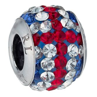 Charmed Memories Union Jack Crystal Bead - Product number 1237187