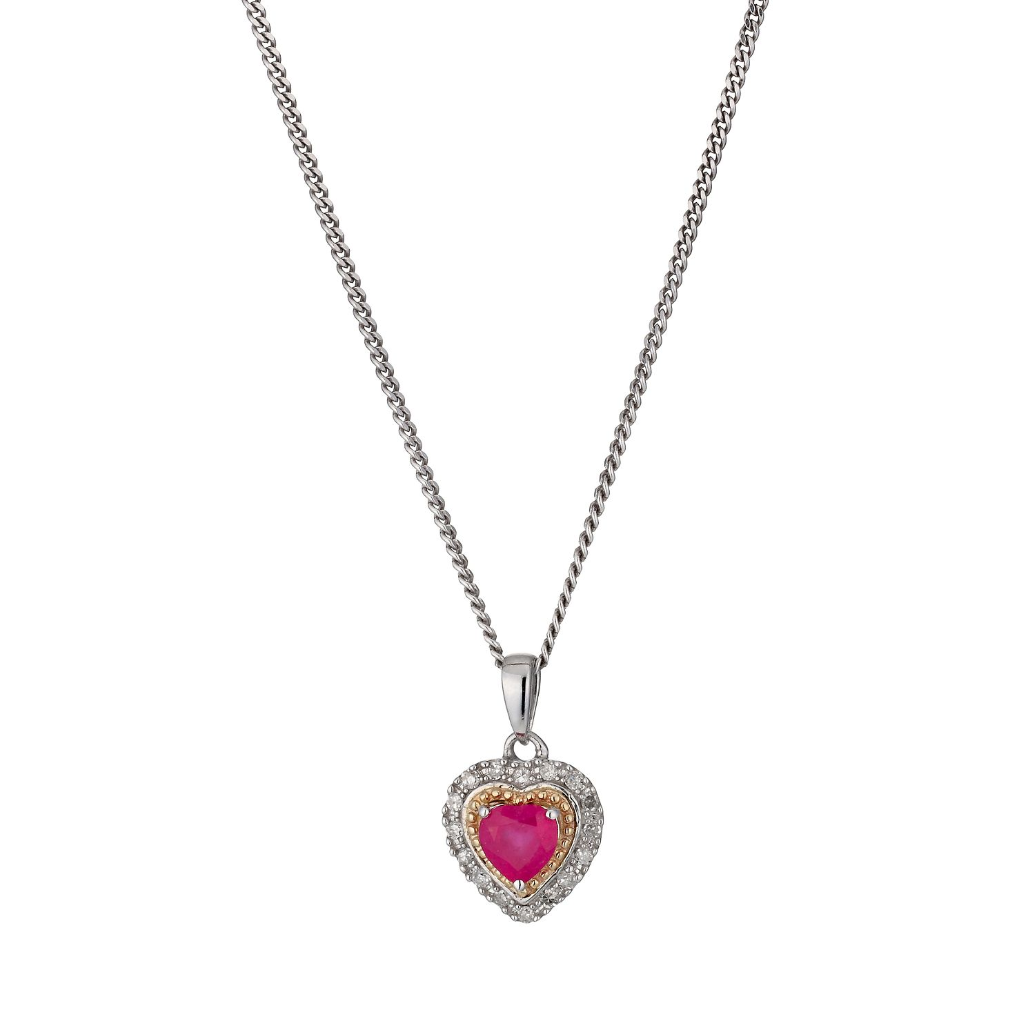 white diamond p large pendant the gold ruby beaverbrooks and context