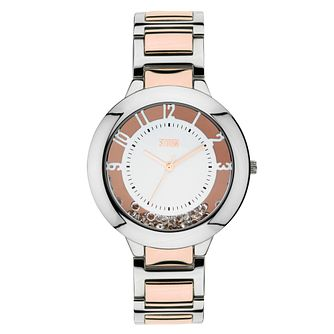 Storm Ladies' Two Colour Stainless Steel Bracelet Watch - Product number 1245309