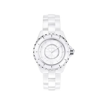 Chanel J12 Limited Edition White Ceramic Bracelet Watch - Product number 1277812