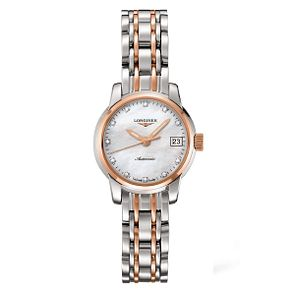 Longines Saint Imier Ladies' Two Colour Diamond Watch - Product number 1297589