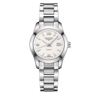 Longines Conquest Ladies' Stainless Steel Bracelet Watch - Product number 1297597