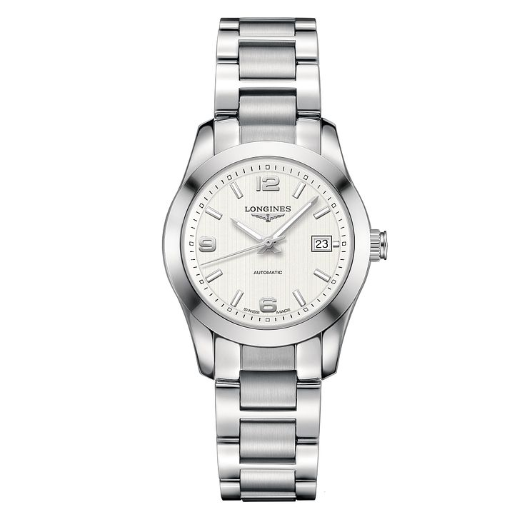 Longines ladies' automatic stainless steel bracelet watch - Product number 1297597