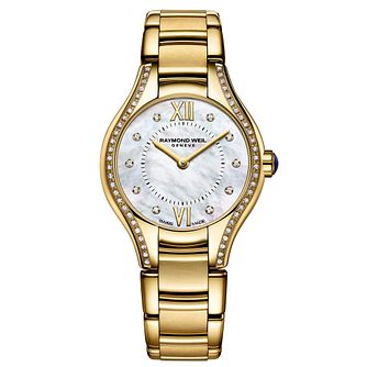 Raymond Weil Noemia ladies' diamond set bracelet watch - Product number 1298151