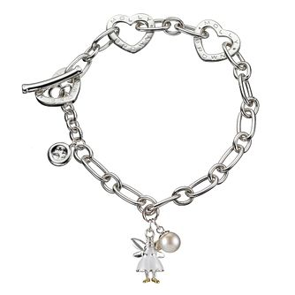 Molly Brown Aurora Sterling Silver White Fairy  Bracelet - Product number 1298577