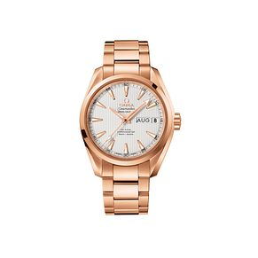 Omega Seamaster Aqua Terra 150m men's 18ct rose gold watch - Product number 1300970
