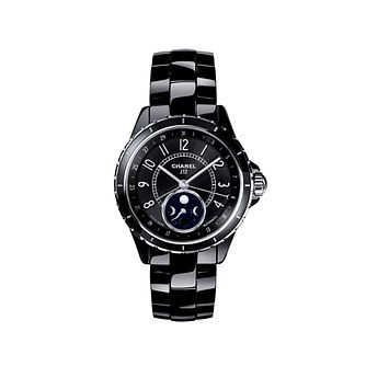 Chanel J12 Moonphase Black Ceramic Bracelet Watch - Product number 1311697