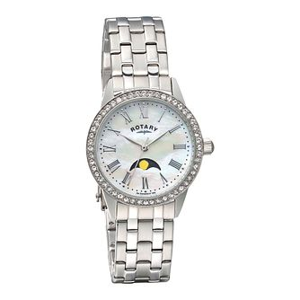 Rotary ladies' stainless steel bracelet watch - Product number 1311786