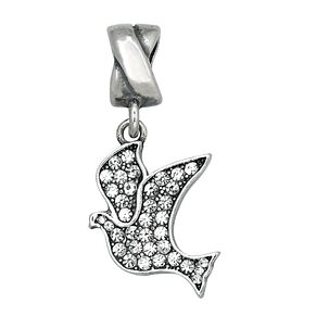 Charmed Memories With Swarovski Crystal Dove Charm Bead - Product number 1313487
