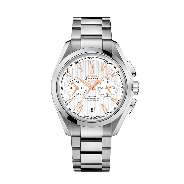 Omega Seamaster Aqua Terra men's steel bracelet watch - Product number 1318268
