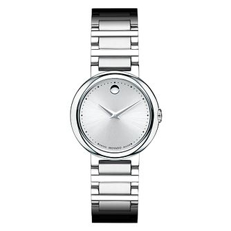 Movado Concerto ladies' stainless steel bracelet watch - Product number 1334239