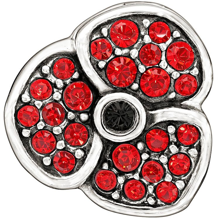 Chamilia With Red Swarovski Crystal Poppy Bead - Product number 1347403
