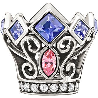 Chamilia Disney Princess Royal Crown Swarovski Crystal Charm - Product number 1347519