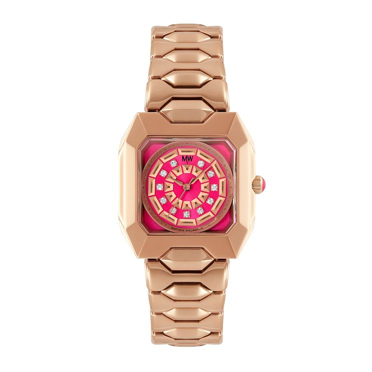 MW by Matthew Williamson Ladies' Rose Gold-Plated Watch - Product number 1347942