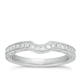 Neil Lane 14ct white gold 0.33ct diamond shaped band - Product number 1351702