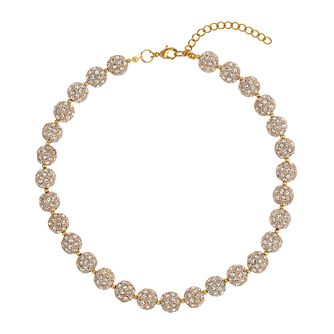 Mikey Yellow Crystal Heavy Necklace - Product number 1354752