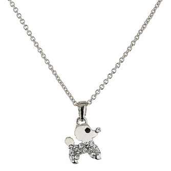 Mikey White Small Diamante Dog Necklace - Product number 1356046