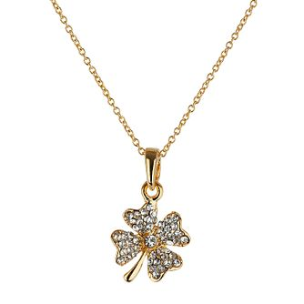 Mikey Yellow Diamante Flower Necklace - Product number 1356313