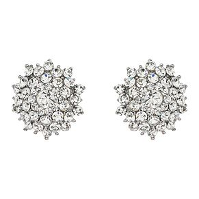 Mikey White Crystal Stud Earrings - Product number 1356496
