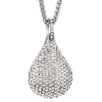 Mikey White Crystal Pear Long Necklace - Product number 1356704