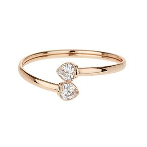 Mikey Rose Crystal Heart Bangle - Product number 1356763