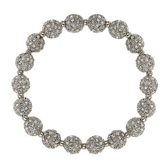 Mikey White Crystal Heavy Bracelet - Product number 1359649