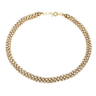Mikey Yellow Scattered Crystal Necklace - Product number 1359703