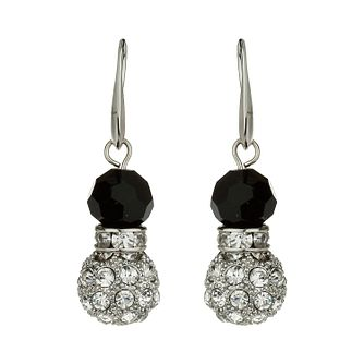 Mikey White & Black Crystal Drop Earrings - Product number 1359894