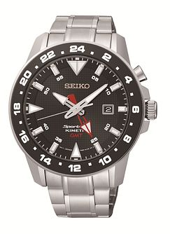 Seiko Sportura Men's Stainless Steel Bracelet Watch - Product number 1377698