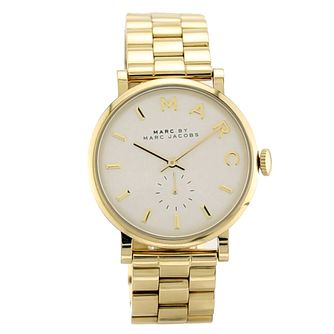 Marc Jacobs Baker Ladies' Gold Tone Bracelet Watch - Product number 1382985