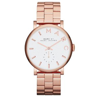 Marc Jacobs Baker Ladies' Rose Gold Tone Bracelet Watch - Product number 1382993