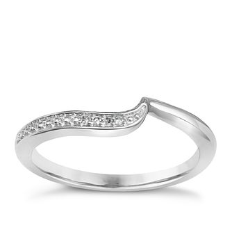 9ct White Gold Diamond Perfect Fit Eternity Ring - Product number 1390066